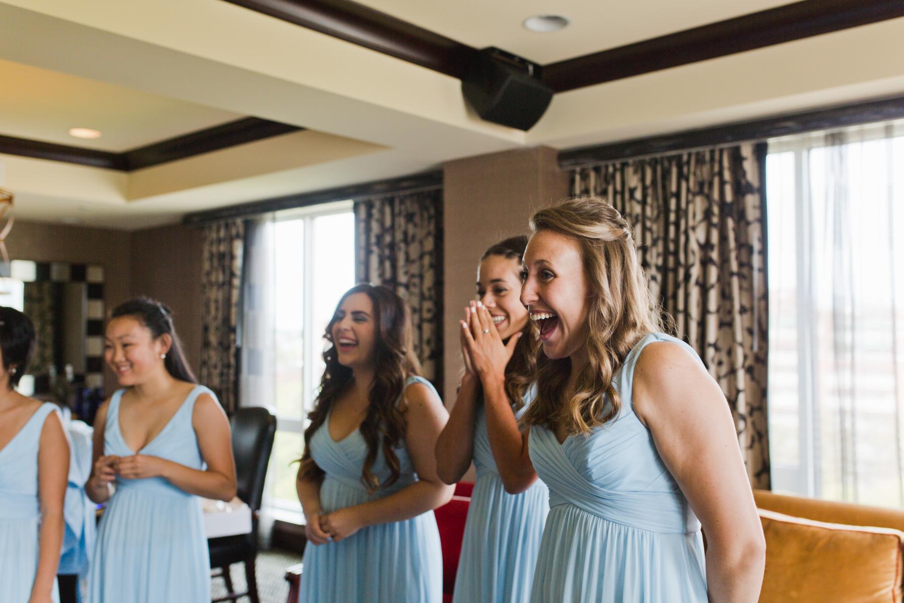 hotel marlowe bridesmaids reactions fun
