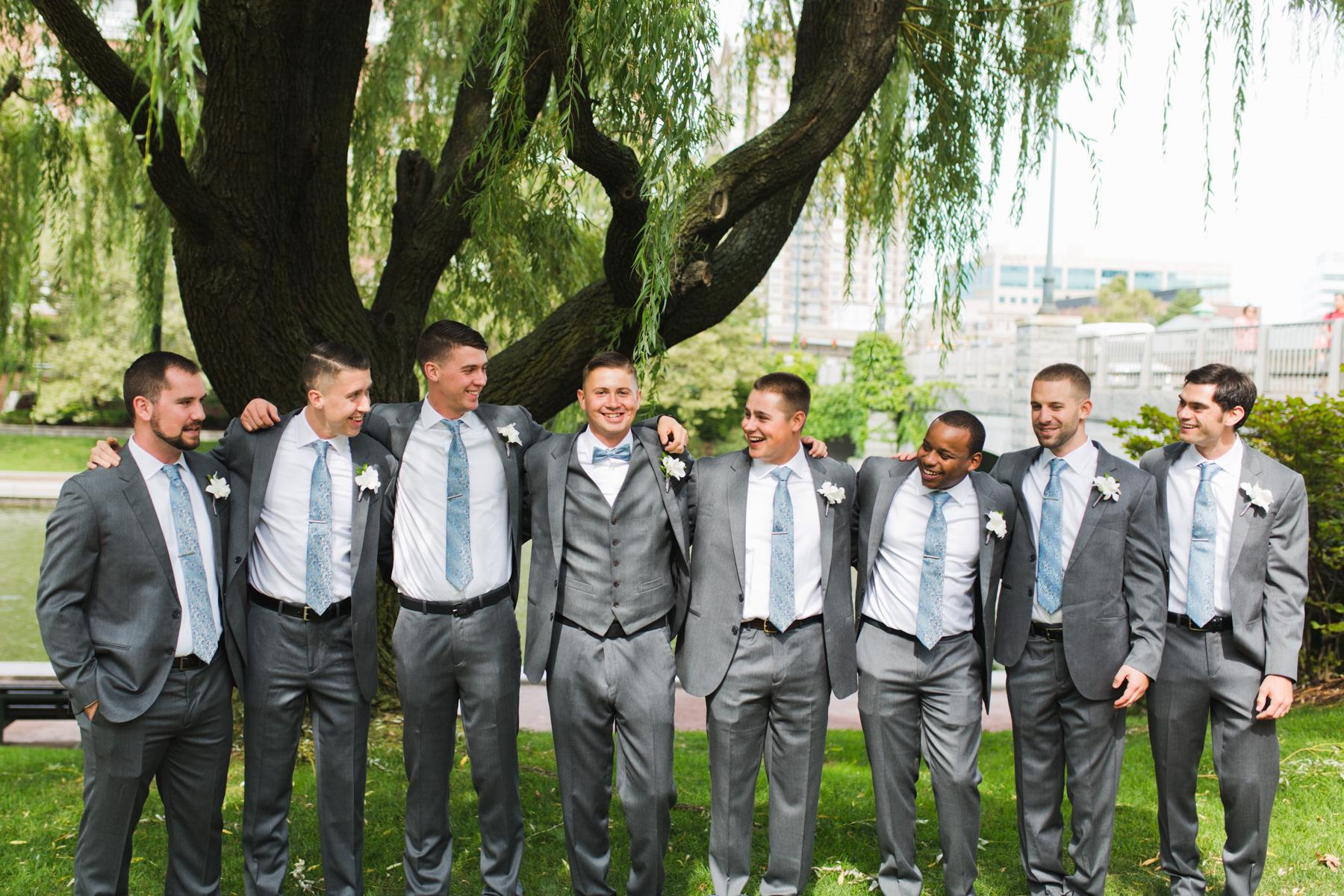 hotel marlowe wedding groomsmen