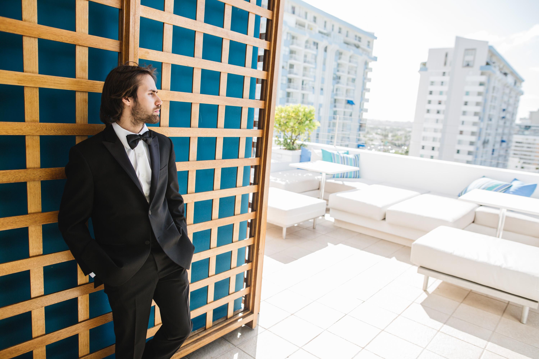 groom portrait san juan puerto rico