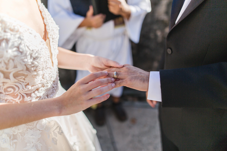 puerto rico exchanging wedding rings