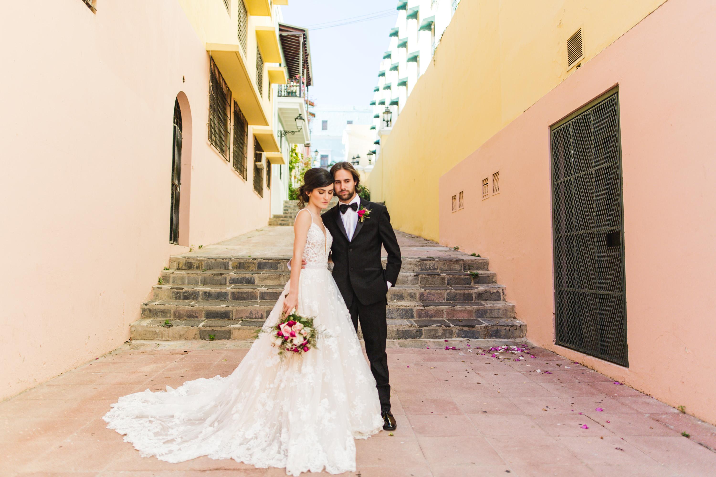 puerto rico bride and groom