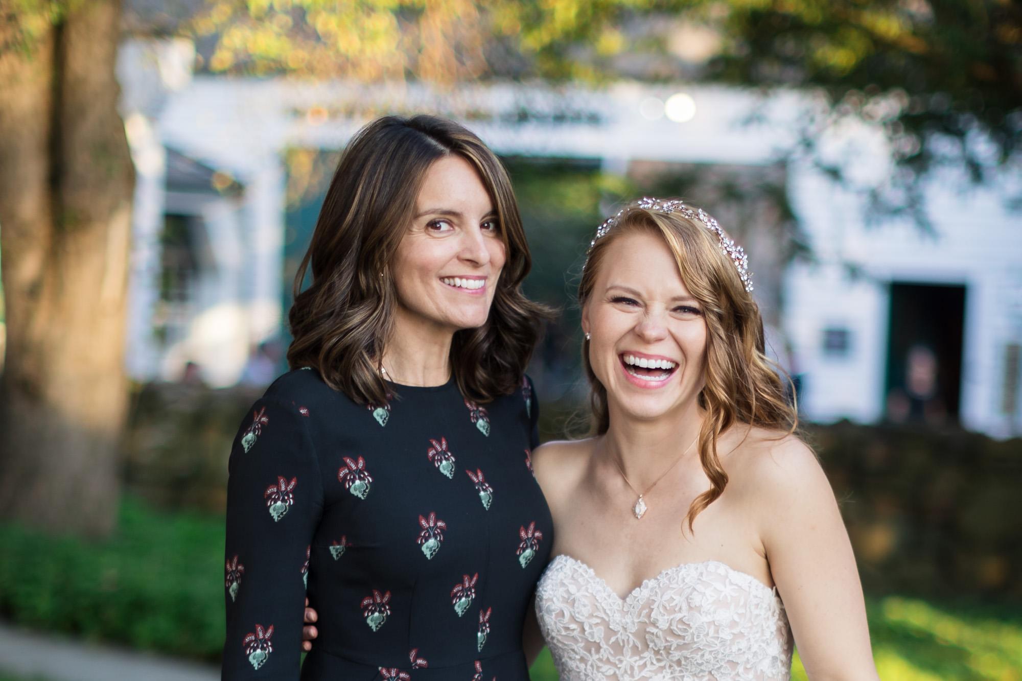 tina fey wedding