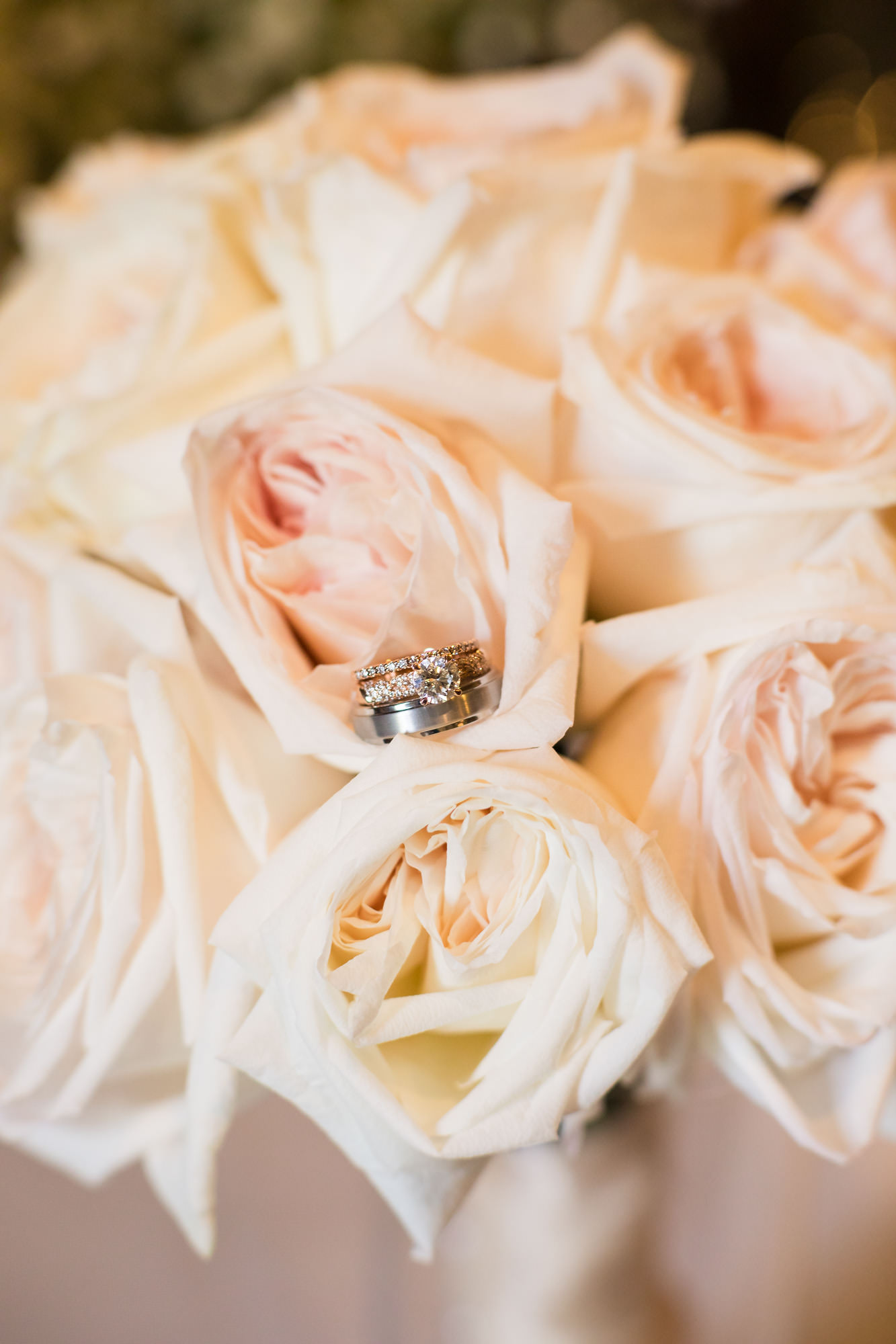 flowers and ring detail