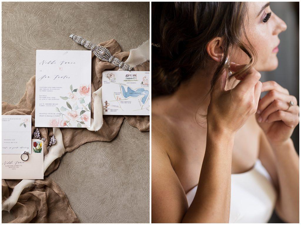 custom-wedding-invitations-watercolor-map-flowers