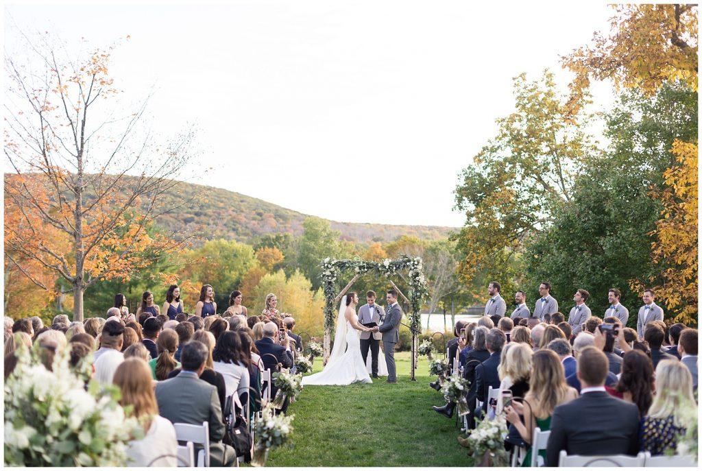 backyard-wedding-fall-ceremony-foliage-connecticut