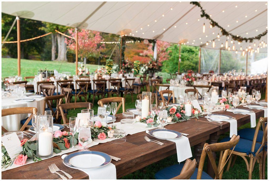 tented-wedding-reception-string-lights-backyard-wedding-outside-wedding