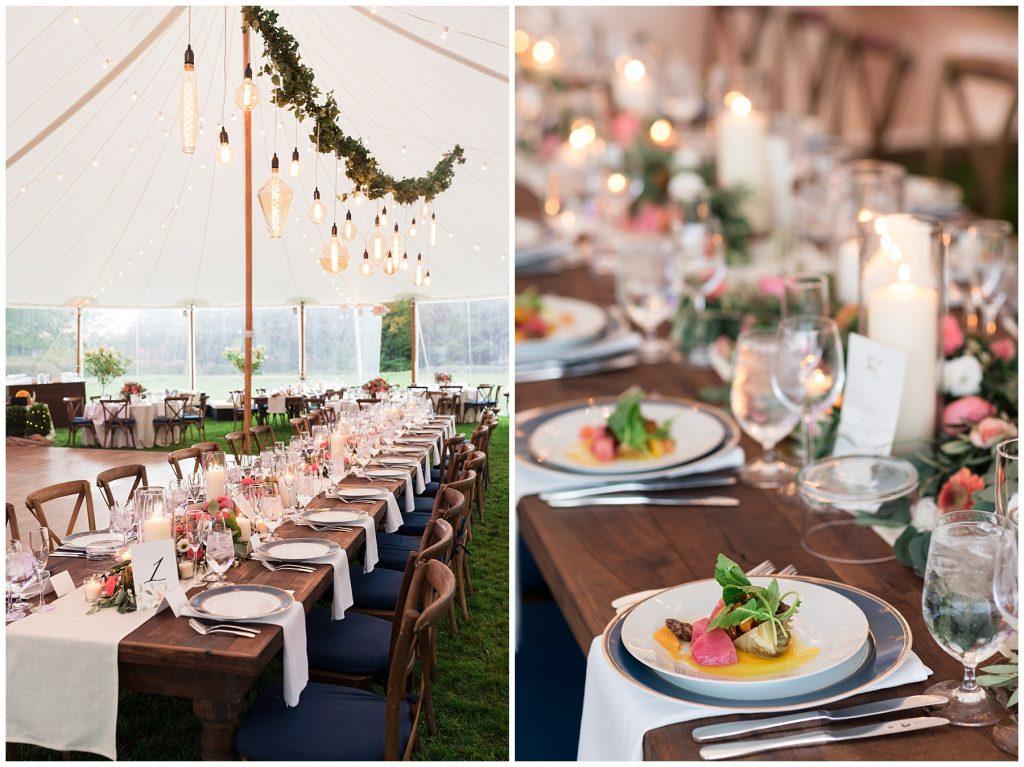 unique-wedding-reception-lighting-edison-bulbs-long-tables-tented-wedding